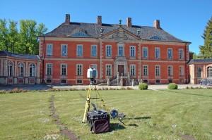 Laserscanning von Schloss Bothmer
